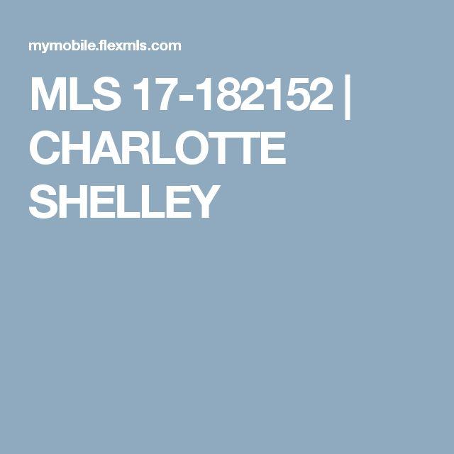 MLS 17-182152   CHARLOTTE SHELLEY