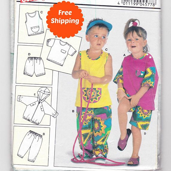 Sewing Patterns for Children Casual Clothes for Toddler