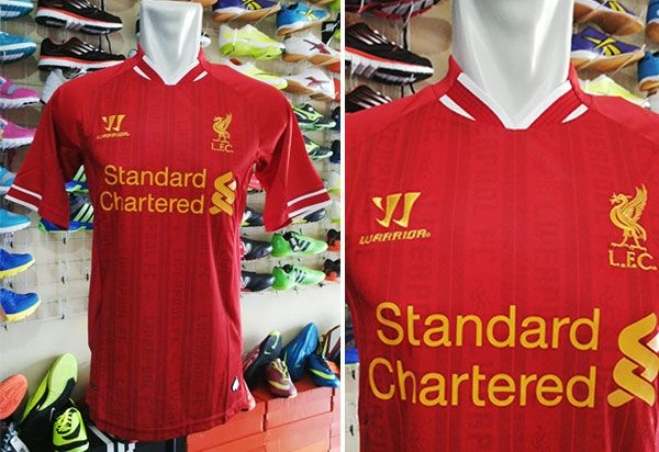 Jersey Liverpool Home Grade Ori Rp 90.000
