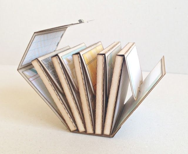Mini album multi boite : très original !