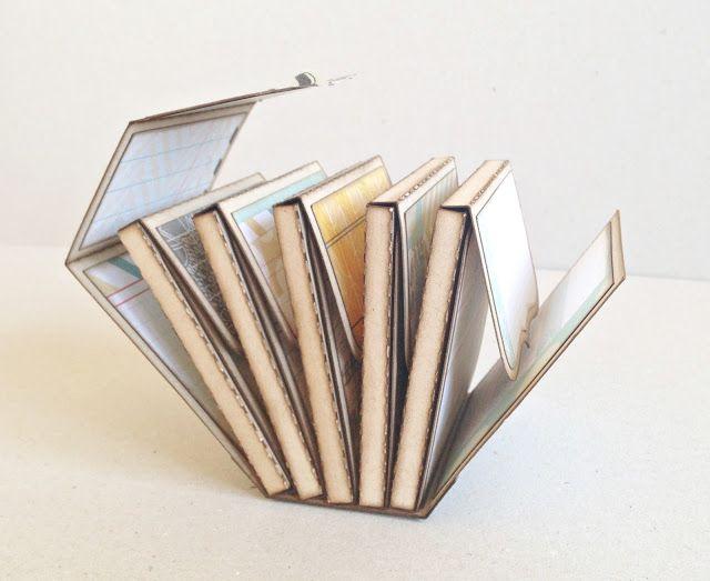 Las fotografías y queso | Tutorial Mini Album (álbum es en realidad una cubierta que tiene 5 pequeñas cajas.)