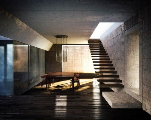 Architectural Rendering | 3D Architectural renderings of a detached house at Portugal