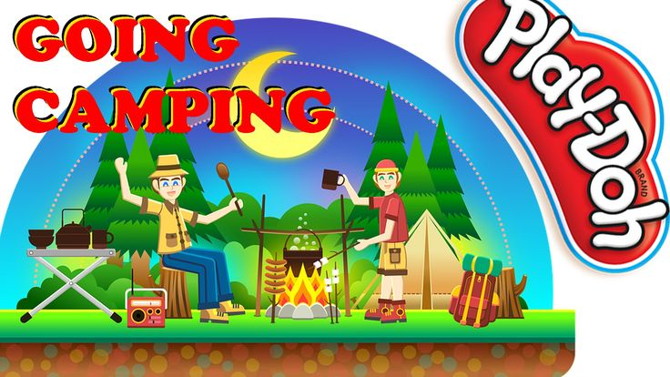 GOING CAMPING | Play Doh Play Set