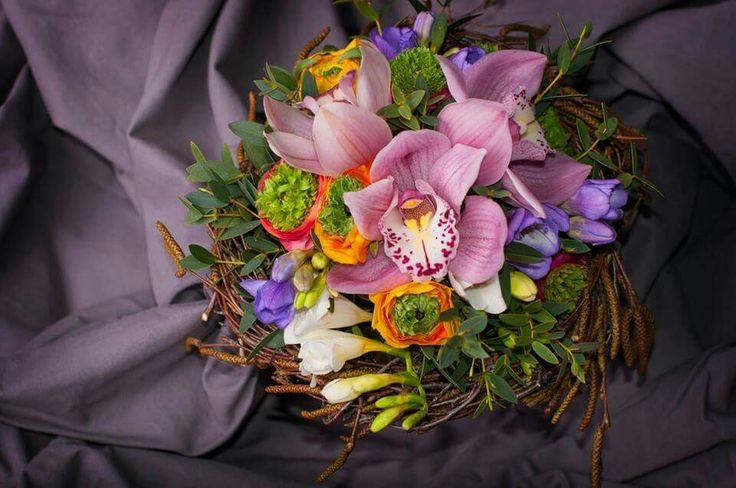 Orchidea,ranunculus,fresia