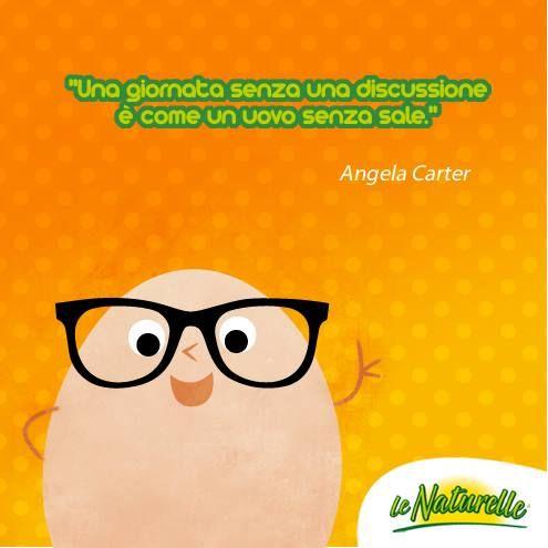 """""""Una giornata senza una discussione è come un uovo senza sale"""" #quote #eggquote #wisdom #citazione #saggezza #uovo #sale #lenaturelle"""