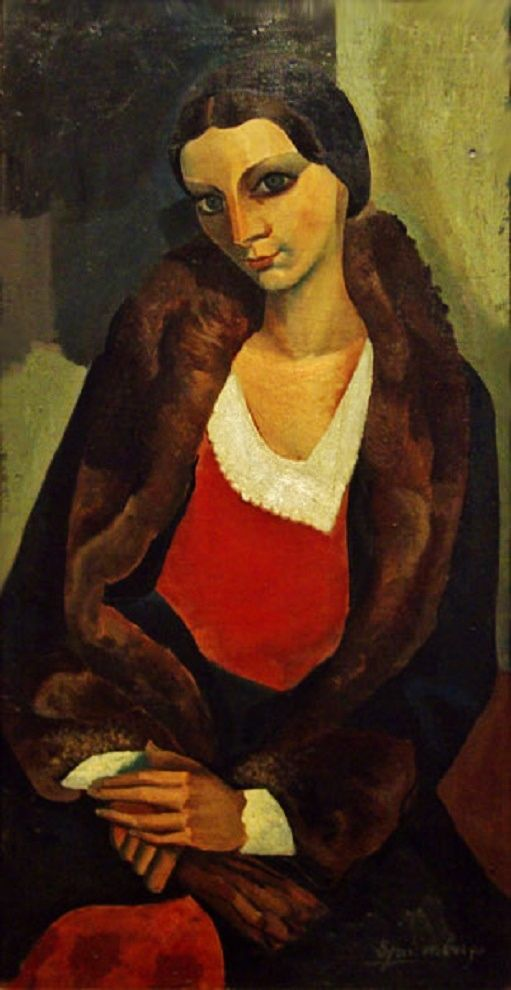 Retrato (1931) Lino Enea Spilimbergo