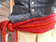 Ceinture Flechee (traditional French-Canadian belt)