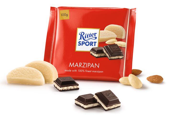 Ritter Sport - Dark Chocolate with Marzipan