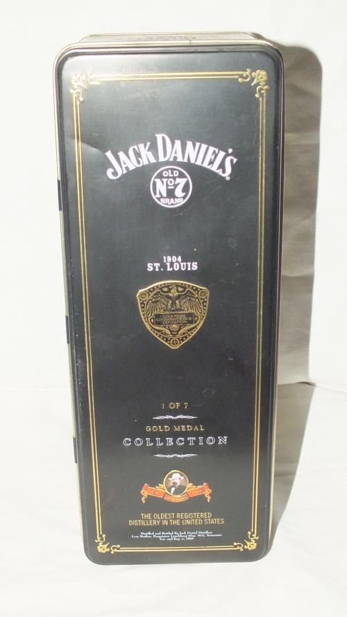Buy Tin - Jack Daniels - Gold Medal Collection 1 of 7 - 1904 St Louis - Empty Tin for R120.00