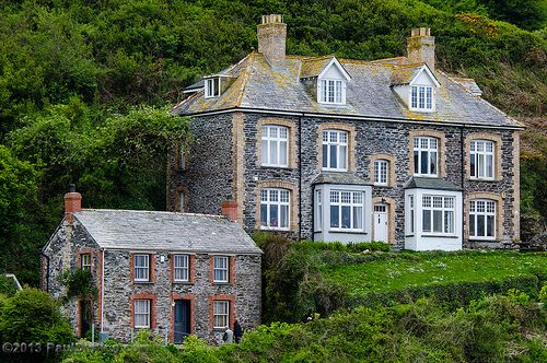 Doc Martin's Surgery - Port Isaac, Cornwall, England, UK