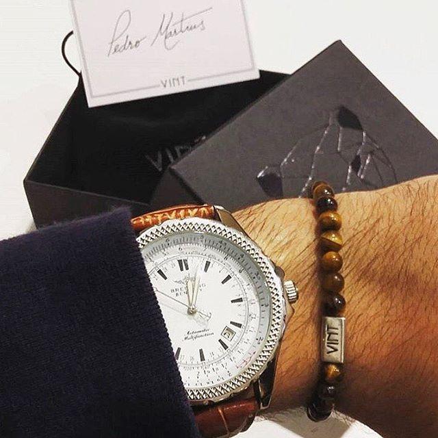 Amazing #wristgame by @pmartins08   #vint #vintluxury #vintfanpic #fanpic #luxury #theluxurylife #lifestyle #bracelet #jewelry #fashion #style #menswear #men #mensfashion #gentlemen #handmadejewelry #lovefashion #accessories #jaguar #modauomo #look #accessoriuomo #modamasculina  #menwithstyle #keepingitclassy #menstuff #getthelook #watch #breitling