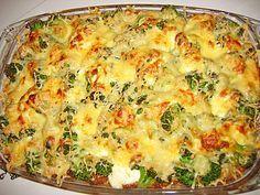 Fırında hazırlanan bu yemek tarifine bayılacaksınız. Brokoli insan sağlığı için çok faydalı bir besindir. Fırında pişen yemekler sağlığınız için çok önemlidir.