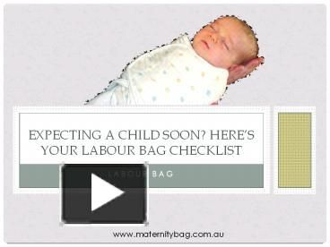 Giving birth to a child is certainly a blessing for every woman in the world. To ensure that you don't miss anything that you might need after giving birth to your little one, here is the ultimate labour bag checklist to go through.