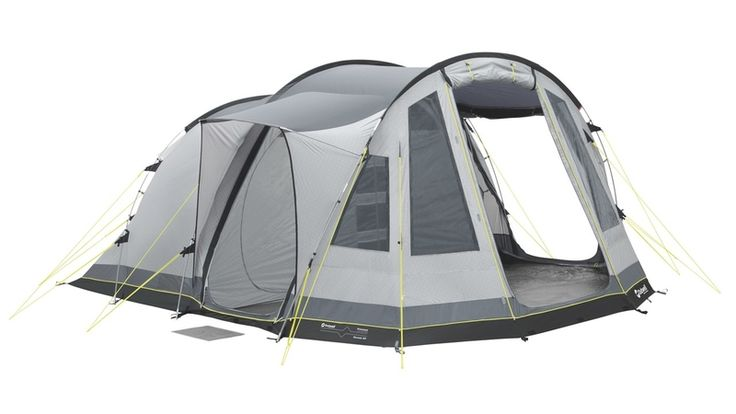 family tent - Outwell Nevada M is a family tent that dozes five people in two rooms. It has an extra parlor which is very roomy and is generally pitched flysheet first or as one. The Outwell Nevada M tent posts are made of lightweight durates fiberglass for adaptability and the inward tent material is of breathable 100% polyester. http://campingstyle.co.uk/outwell-nevada-m-review-classic-or-not/  #tent  #Outwell #Nevada #Tents