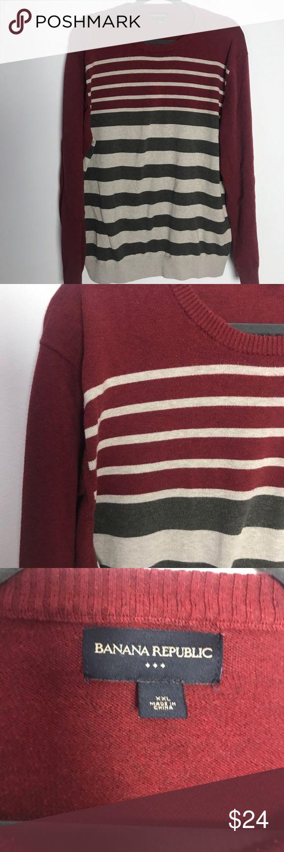 Banana Republic Factory xxl sweater EUC 100 cotton Smoke