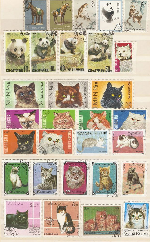 Stamps with Theme Fauna