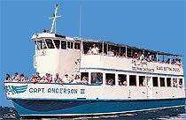 Capt. Anderson III - Glass Bottom Boat Cruiser - Panama City Beach Florida Attractions