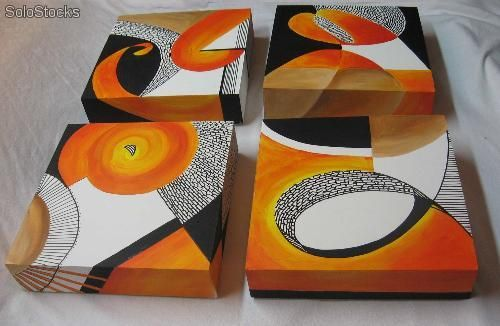 cajas de te pintadas - Buscar con Google | vitrofusión | Pinterest ...