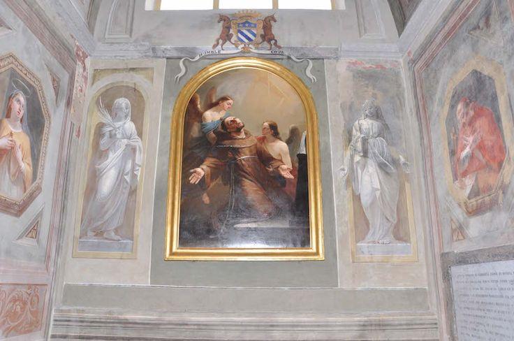 The chapel of San Francesco in San Bernardino's church (XV-XVII c.) in Saluzzo - Cuneo - Piedmont - Italy after paintings conservation (2009-2011)