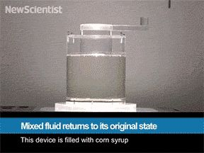 Never thought corn syrup could be this interesting. watch this gif it will blow your mind.