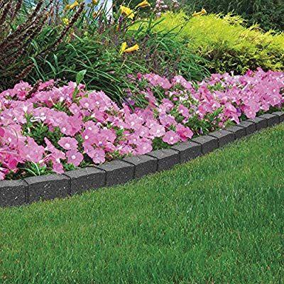 Garden Border Flexible Edging Stone Effect Eco Friendly 400 x 300