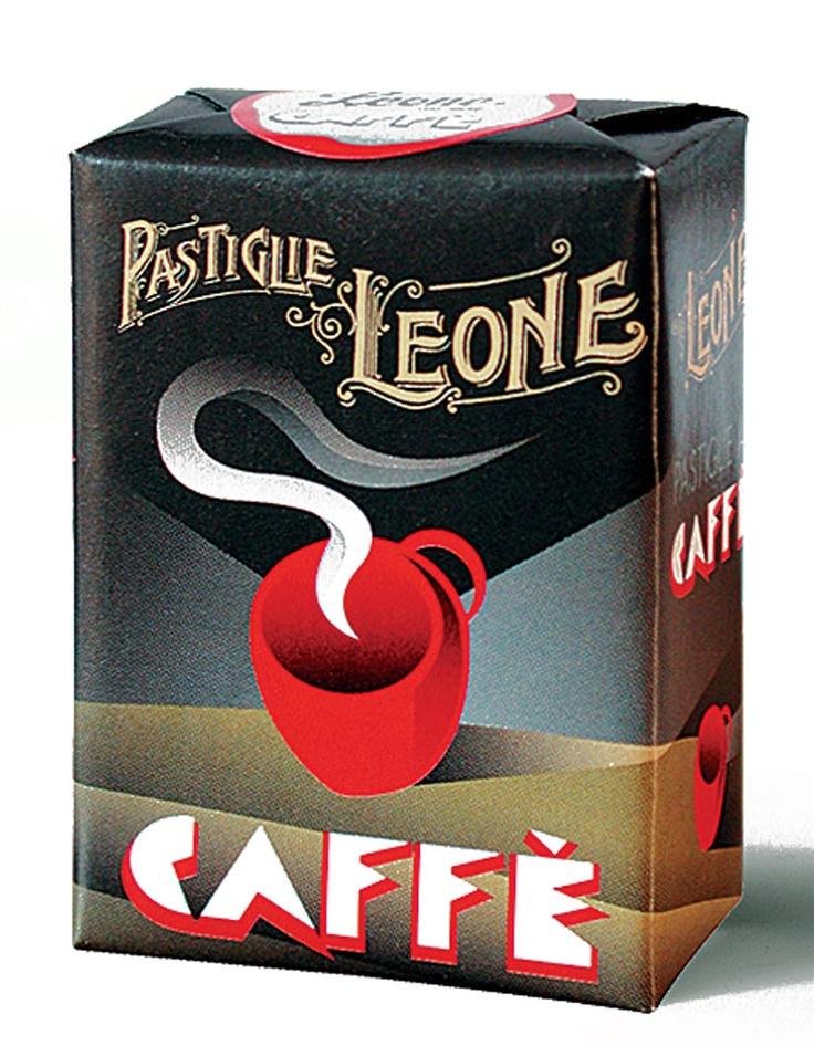 Leone Caffe Pastilles #packaging #design