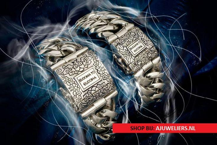 Zilveren Buddha to Buddha armbanden worden met de handgemaakt. De Chain is één van de meest verkochte items deze zomer.