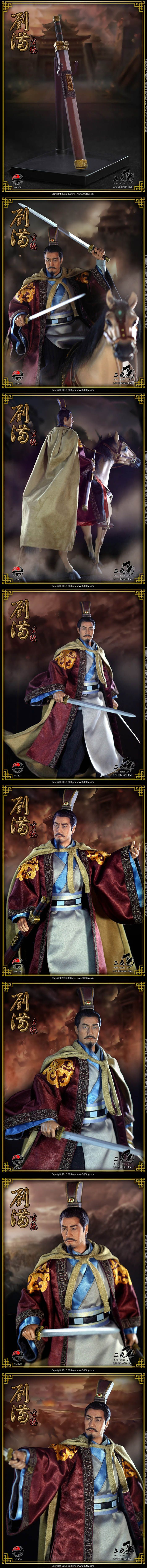 [303TOYS 1/6 China Series No. 308 - Liu Bei(유비)]