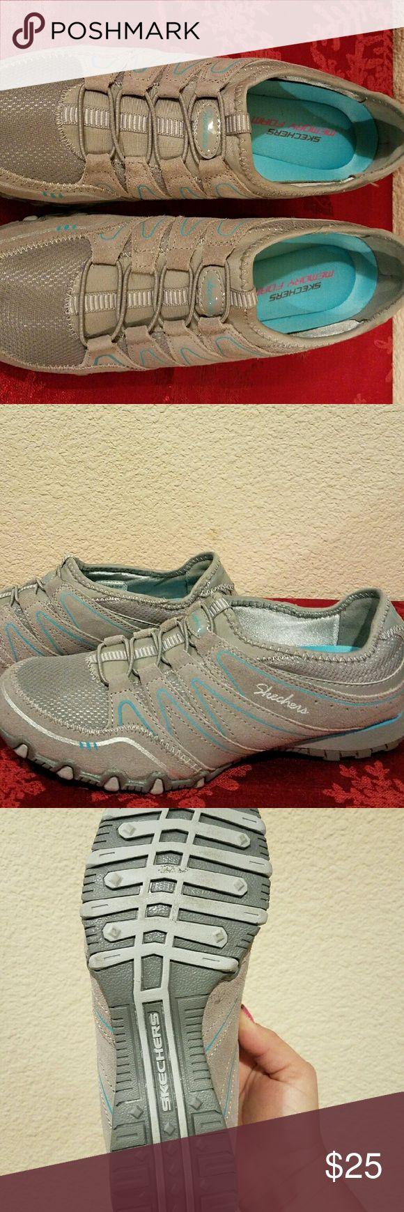 Skechers Slip On Shoe Nice walking or casual shoe with memory foam sole.  NWOT Skechers Shoes Athletic Shoes
