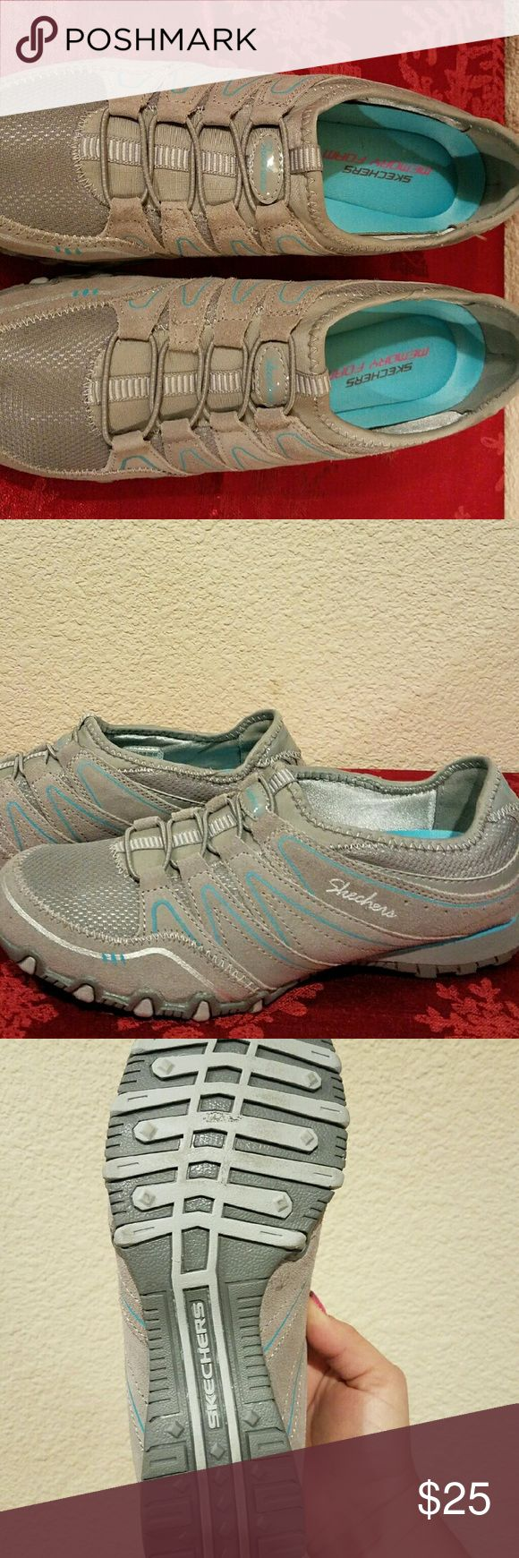 Skechers Slip On Shoe Nice walking or casual shoe with memory foam sole.  NWOT Skechers Shoes Athletic Shoes