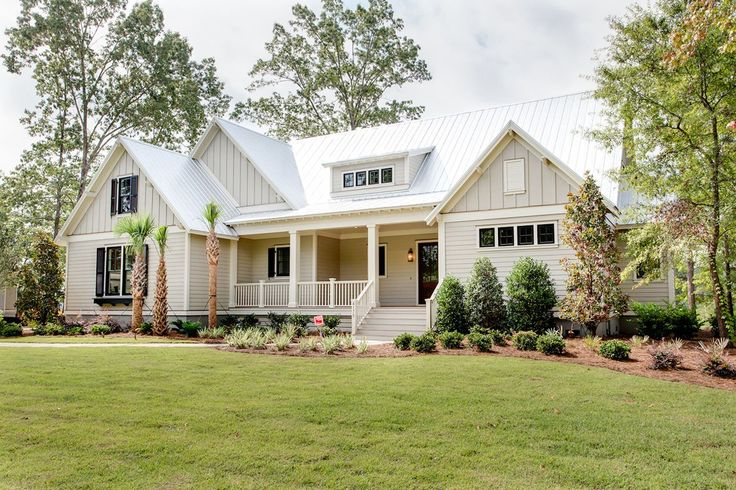 Farm House - this is an advertisement from a new construction company but there's great pics inside and out for inspiration if you're starting from scratch. So beautiful inside and out. I think this plan is called Poplar Grove?