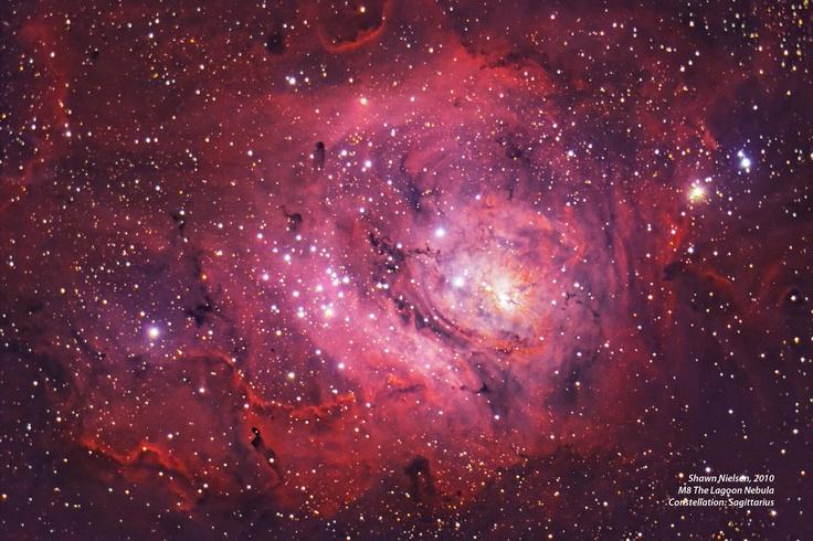 M8 The Lagoon Nebula by Stardaug. Ontario, Canada