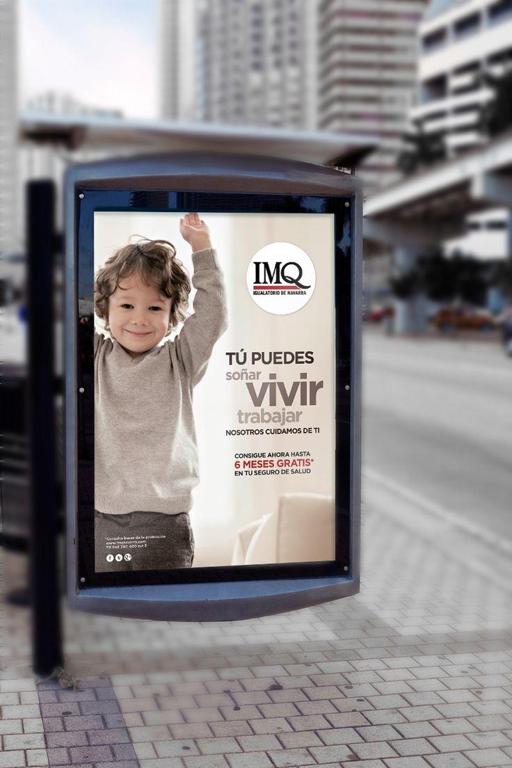 Publicidad en marquesinas IMQ Navarra