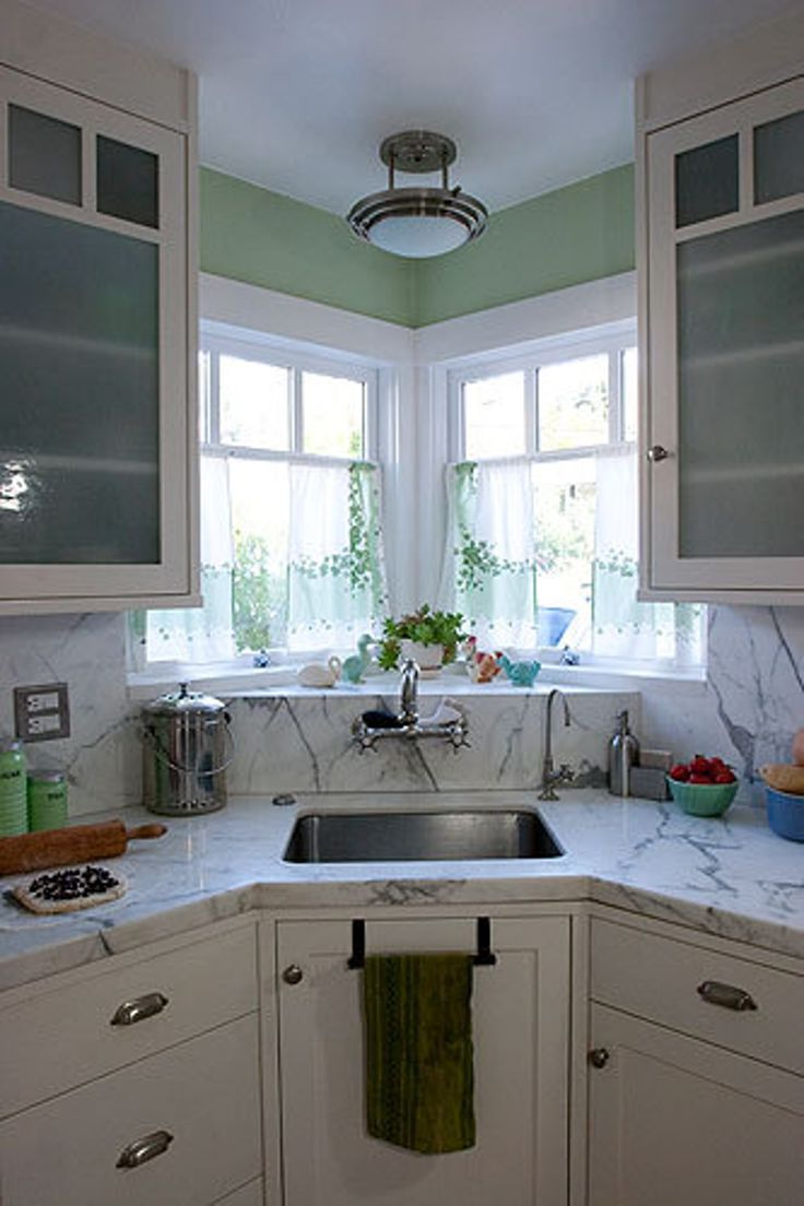 Corner window kitchen sink   best house addition images on pinterest  dreams home ideas and