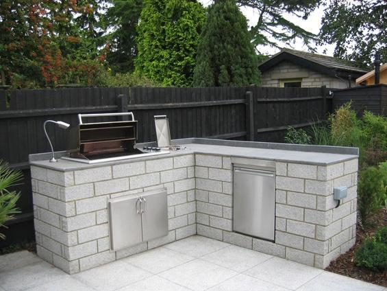 Outdoor Creations - Professional Large Garden Design Portfolio Luxius Outdoor Kitchen #contemporarygardendesign