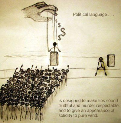 The definition of political language