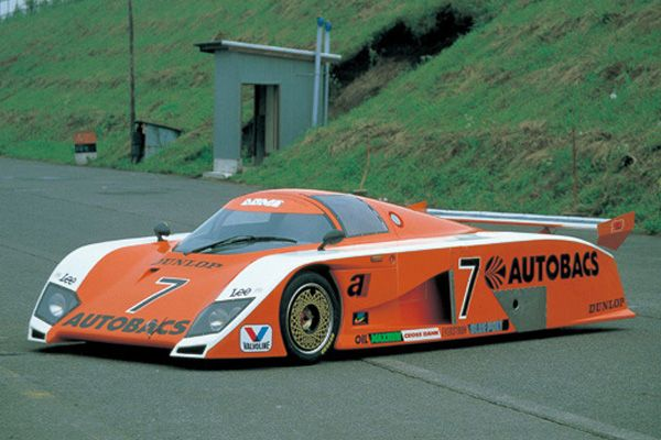 1983 Dome RC83 was a Group C Sports Racing Car - Powered by Cosworth DFL V8 Engine