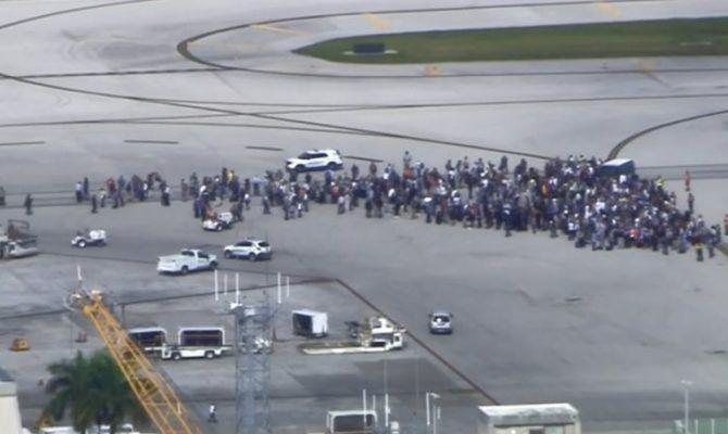 Πυροβολισμοί στο διεθνές αεροδρόμιο της Φλόριντα – Τρεις νεκροι, 9 τραυματίες ΖΩΝΤΑΝΗ ΜΕΤΑΔΟΣΗ
