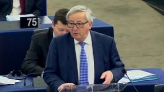 "Brexit: Jean-Claude Juncker says UK will regret decision -  Brexit: Jean-Claude Juncker says UK will 'regret' decision                                                                                                13 March 2018                                                                                 Related Topics  Brexit  The UK will come to ""regret"" the decision to leave the EU European Commission president Jean-Claude Juncker has warned.  Addressing the European Parliament Mr…"