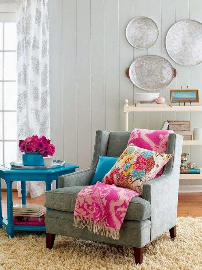 traumleseecke mit herrlichen farben wohnzimmer. Black Bedroom Furniture Sets. Home Design Ideas