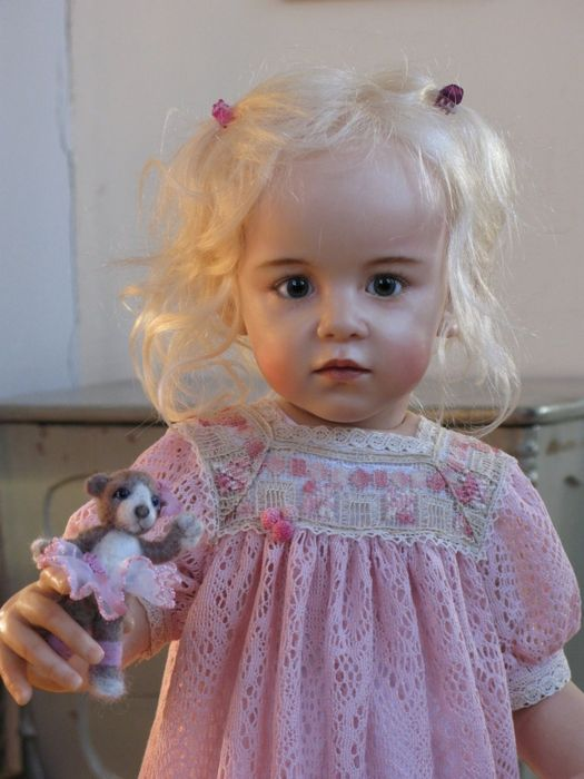 ♥ Sissel Skille ooak polymer doll - and a personal favorite