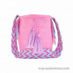 Authentic Wayuu Mochila Bag - 316