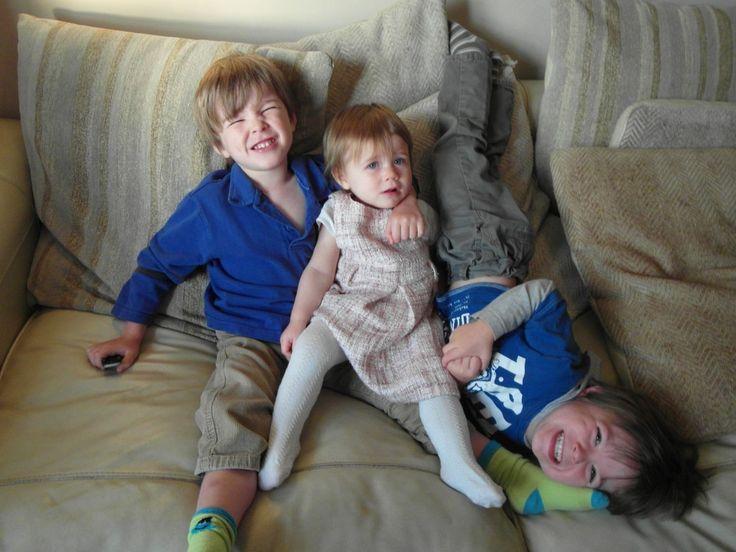 Guest post from freelance writer Karen Bleakley: surviving with three children under three #parenting #twins