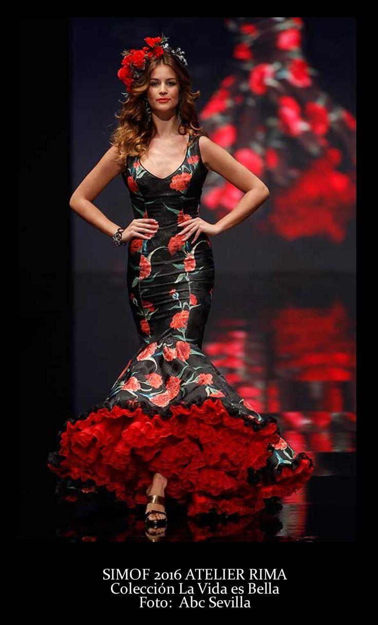 Colección 2016. La vida es bella. Simof 2016. Moda flamenca.