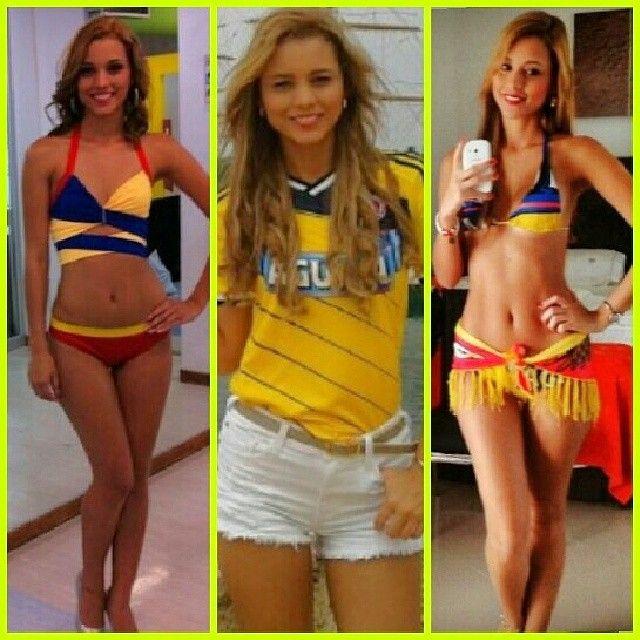Resultado de imagem para chicas fútbol colombiano