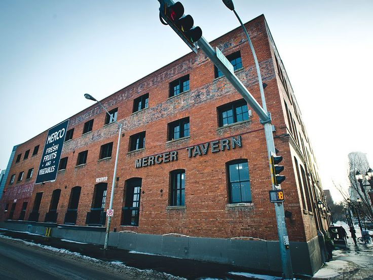 A one hundred year old building in #yegdt warehouse district, the Mercer has become an entrepreneurial hub for many of the city's brightest minds and builders.