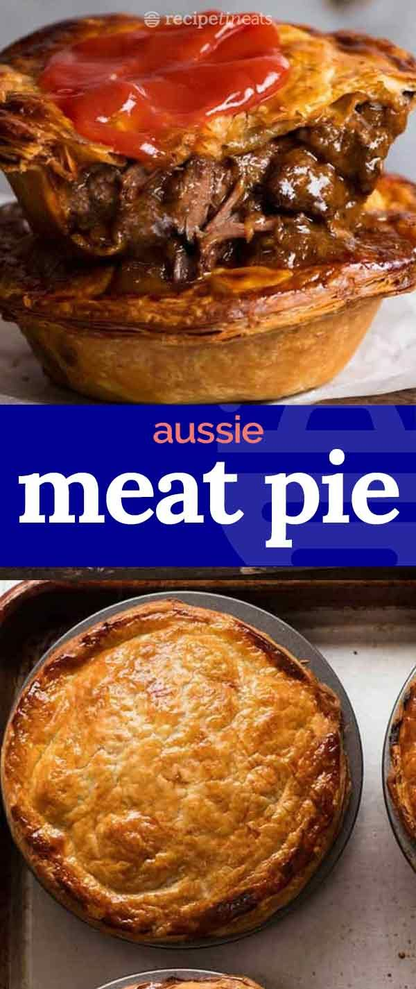 Meat Pie Recipe Recipe Australian Meat Pie Meat Pie Recipe Meat Pie