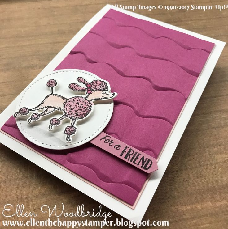 stampin up pinterest 2017 Ruffled emboss folder | We are hopping to share the projects we are sending and projects we ...