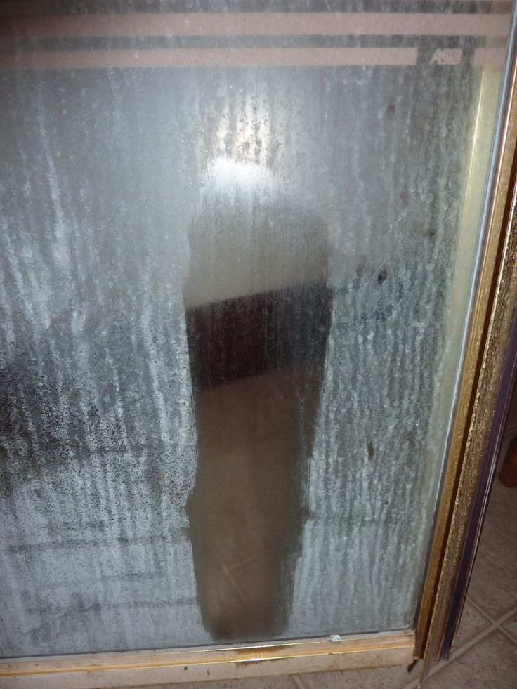 21 best images about cleaning glass shower doors on - Cleaning bathroom glass shower doors ...