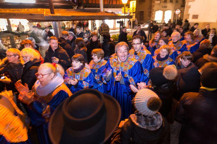 Chants de Noël sur le marché d'Obernai en décembre 2015 - Styl'List Images